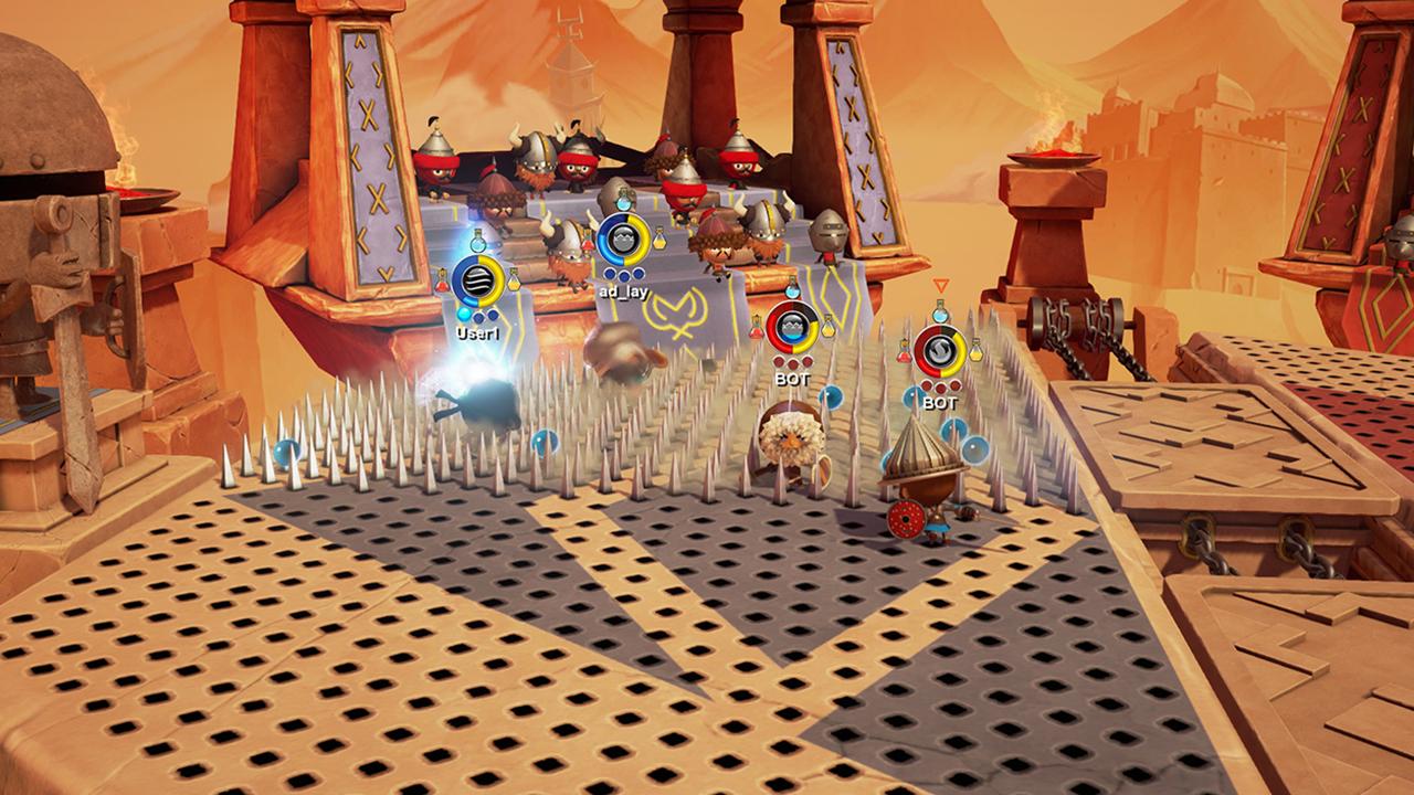 La versione diWorld of Warriorsper PS4 èstata rifatta dazero, rinuncia agli acquistiin-app, e al contrariodel titolo per smartphone non è più necessario consumare energia per affrontare un livello