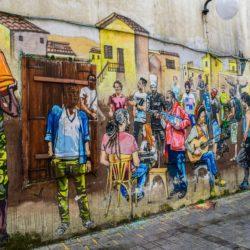 immigrazione murales